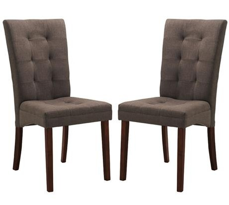 Quinn Brown Fabric Dining Chair 461x413