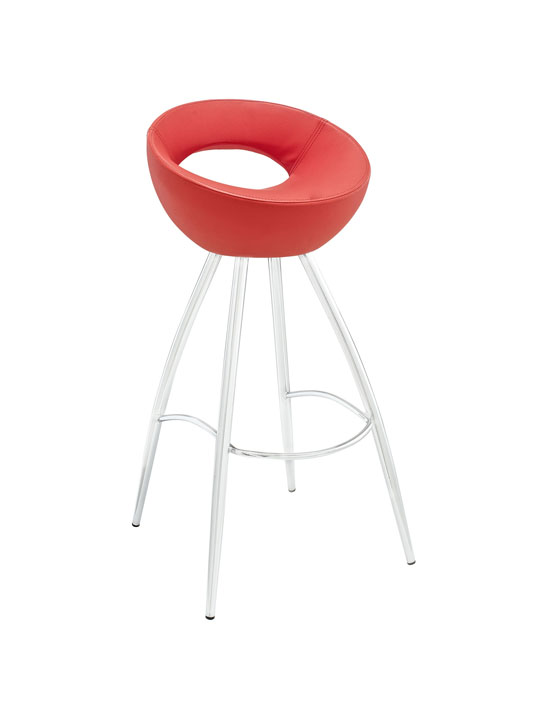 Flower Pot Barstool Modern Furniture Brickell Collection