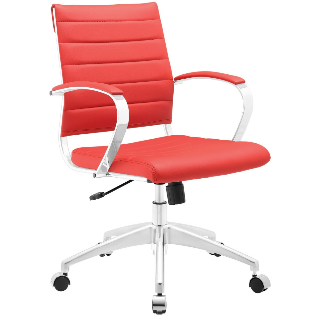 Red Instant Operator Low Back Office Chair