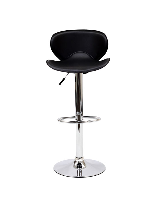 Relevant Leather Adjustable Barstool