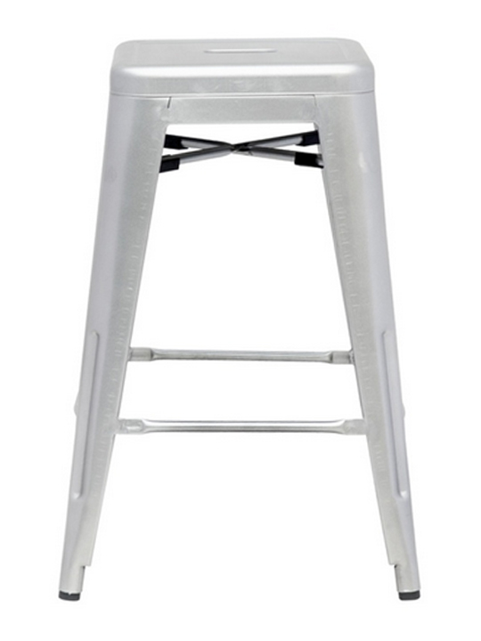 Silver Tonic Counter Stool