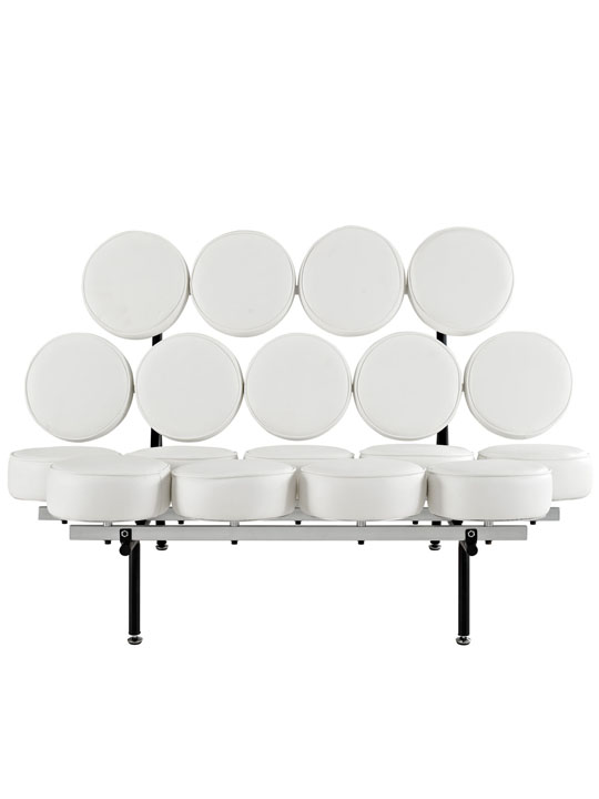 Spherical Circle Sofa White