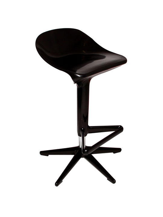 Super Barstool Black
