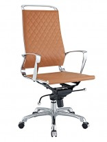 Tan Coco High Back Office Chair 156x207