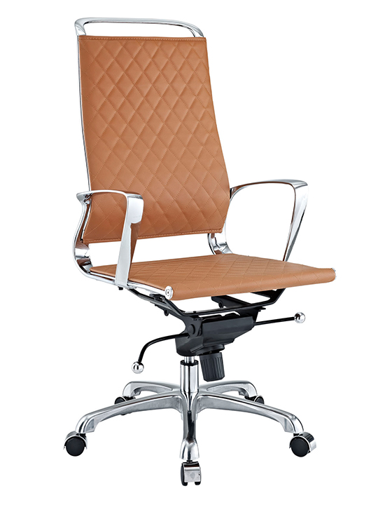 Tan Coco High Back Office Chair