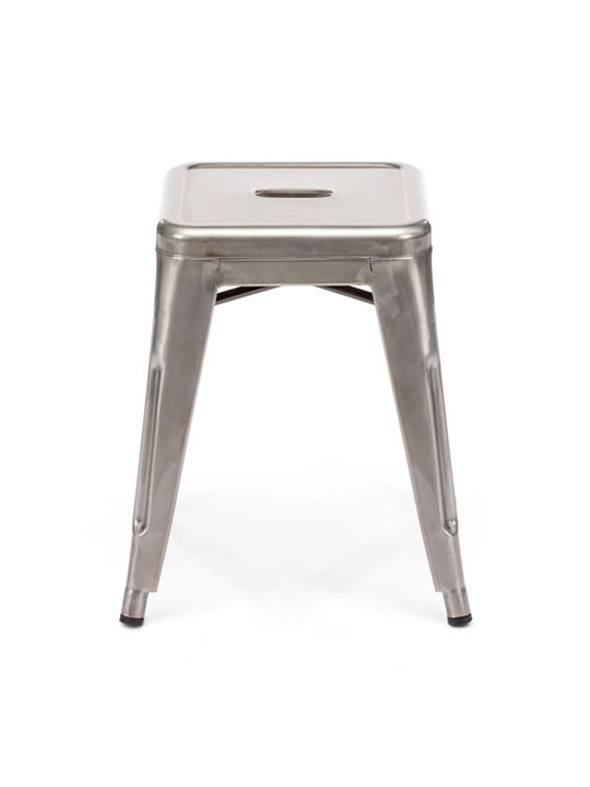 Tonic Low Stool Stainless Steel 2