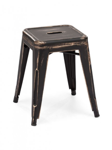 Tonic Midi Stool Distressed Black 2 461x614