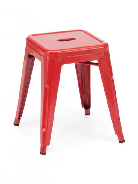 Tonic Midi Stool Red 461x614