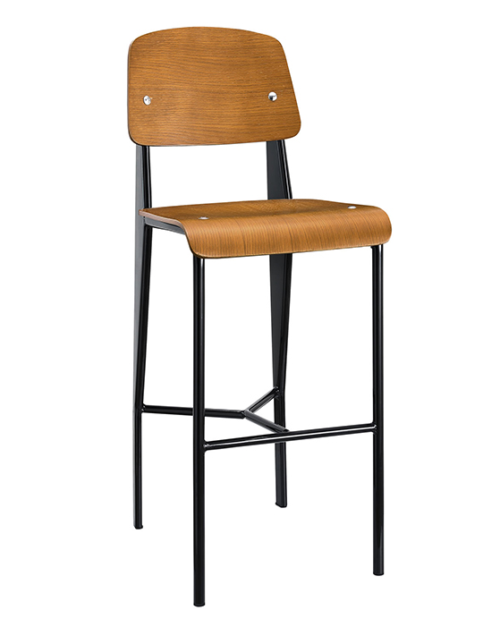 Standard Barstool Modern Furniture Brickell Collection