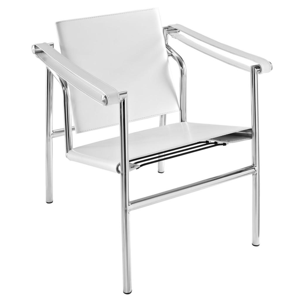 White Attache Chair
