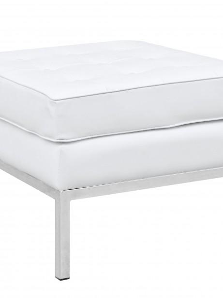 White Bateman Ottoman 2 461x614