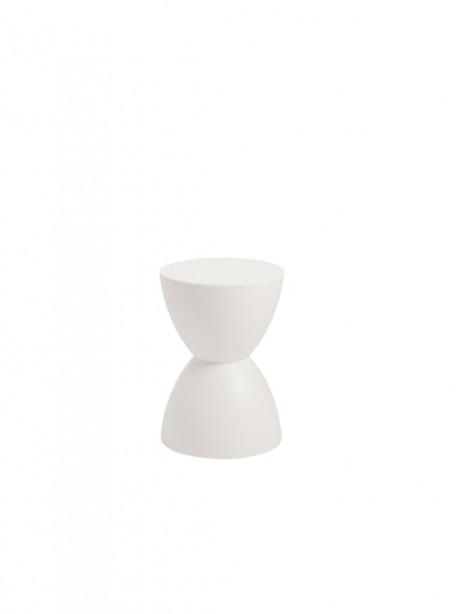 White Bombay Stool 461x614