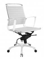 White Instant Planner Low Back Office Chair 156x207