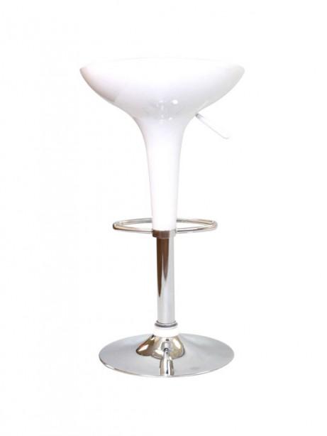 White Modern Retro Barstool 3 461x614
