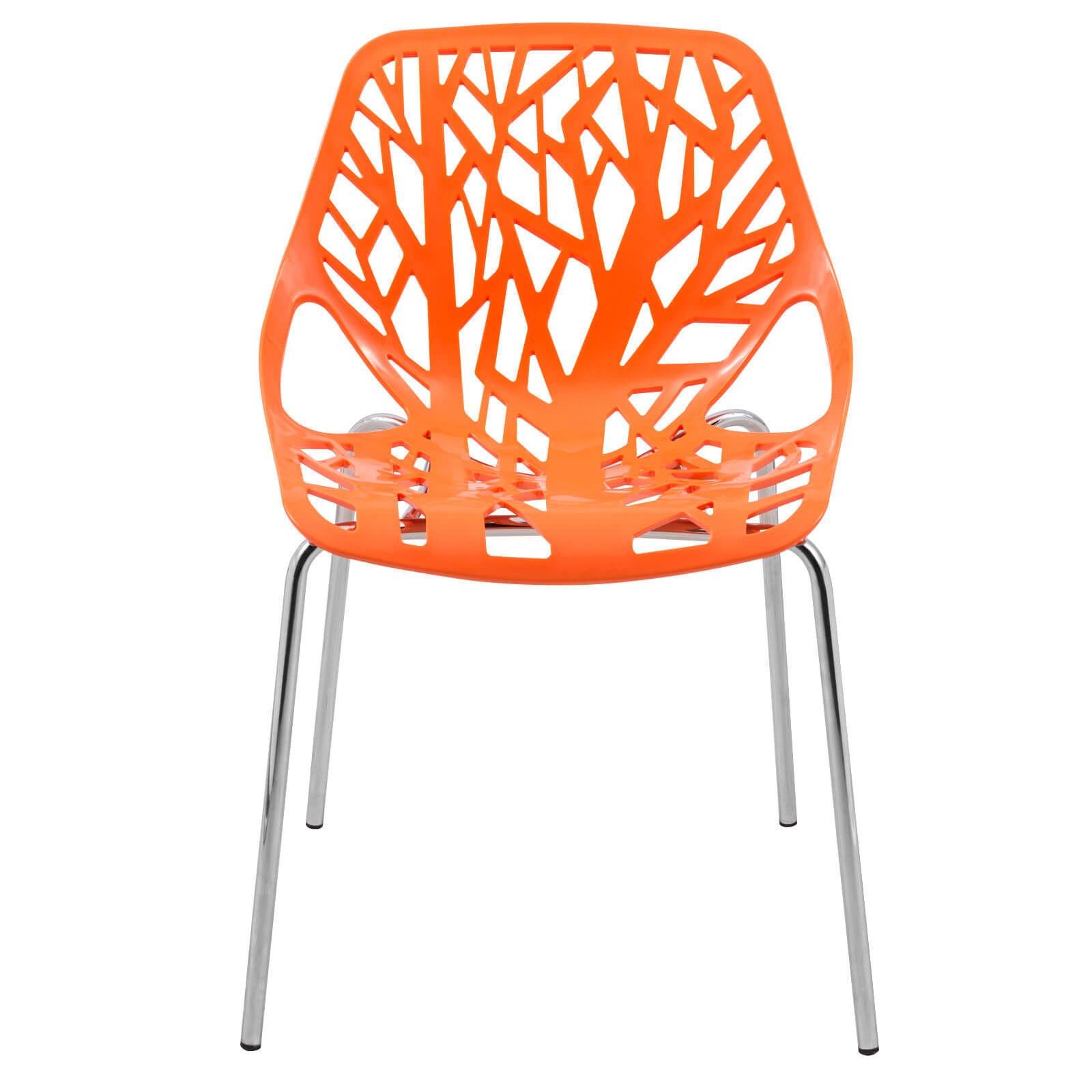 orange life chair set 2