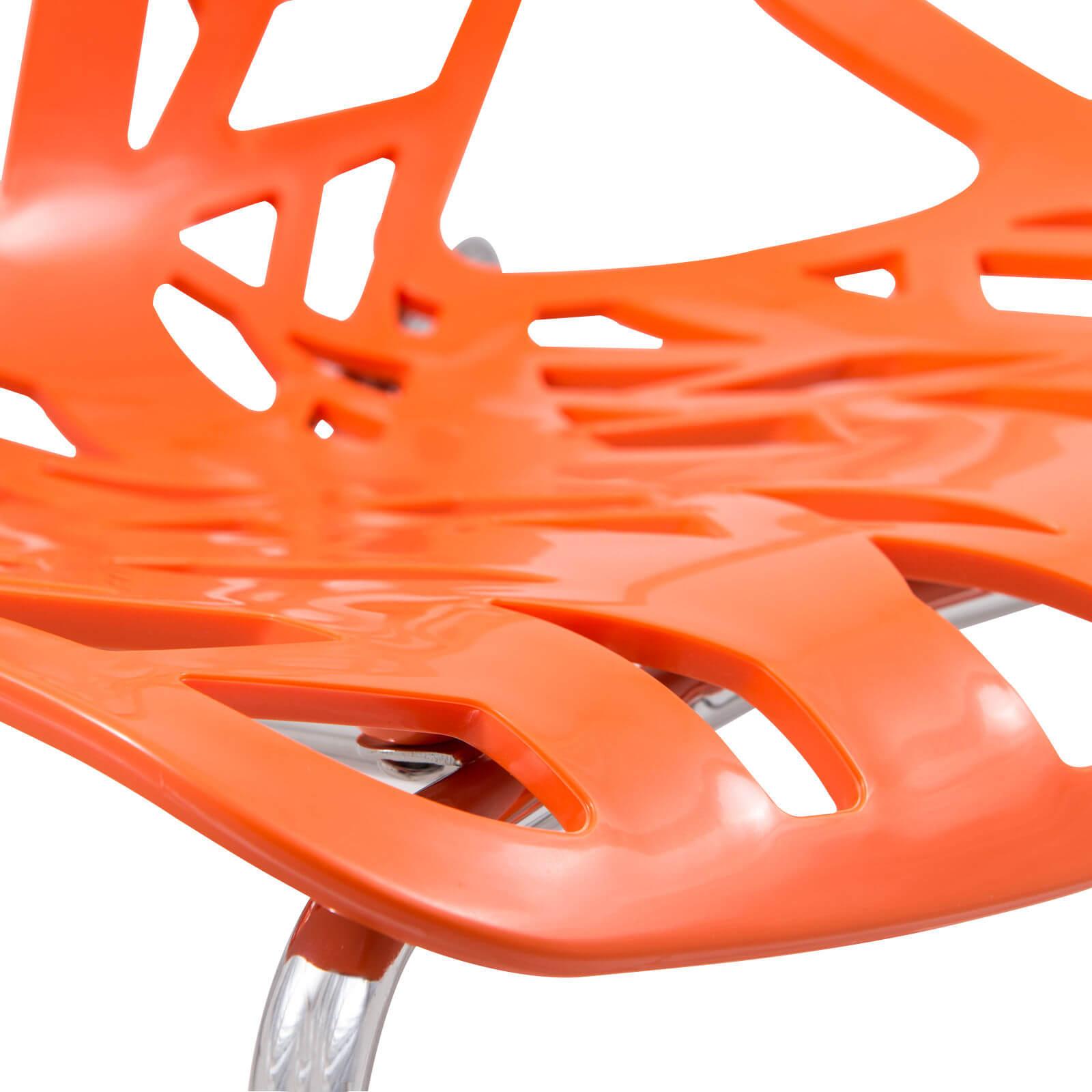 orange life chair set 6