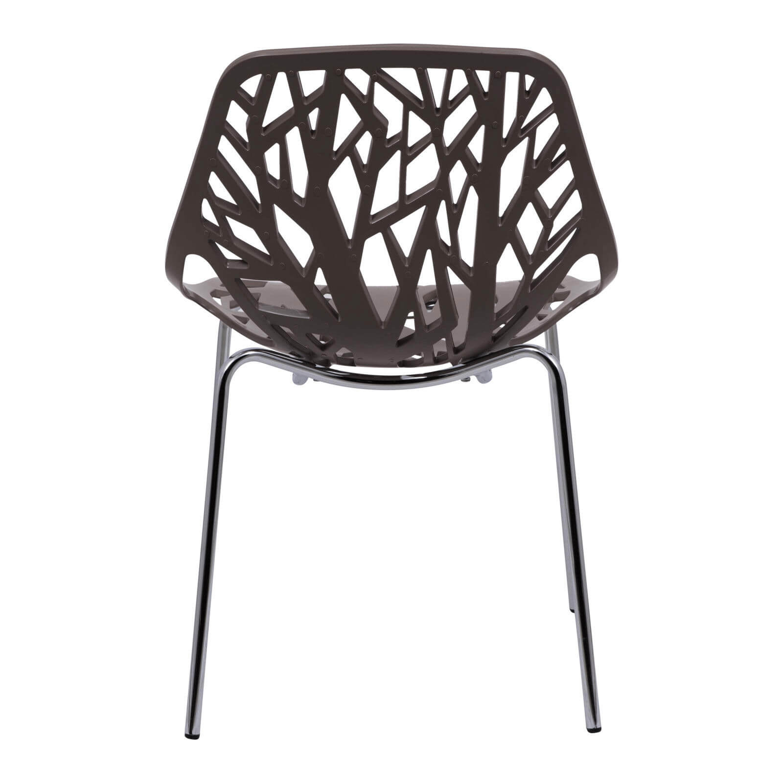 taupe plastic life chair set 4
