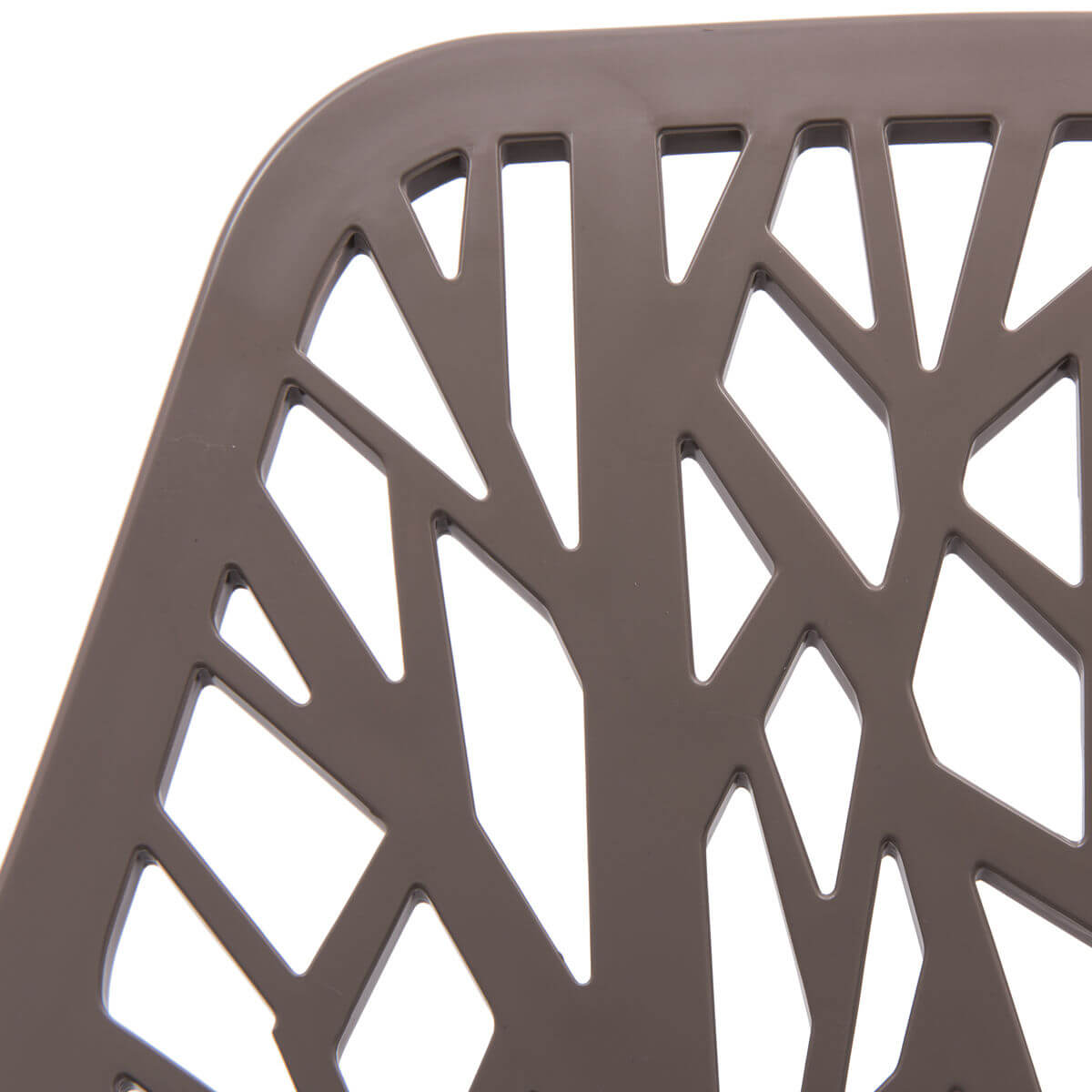 taupe plastic life chair set 5