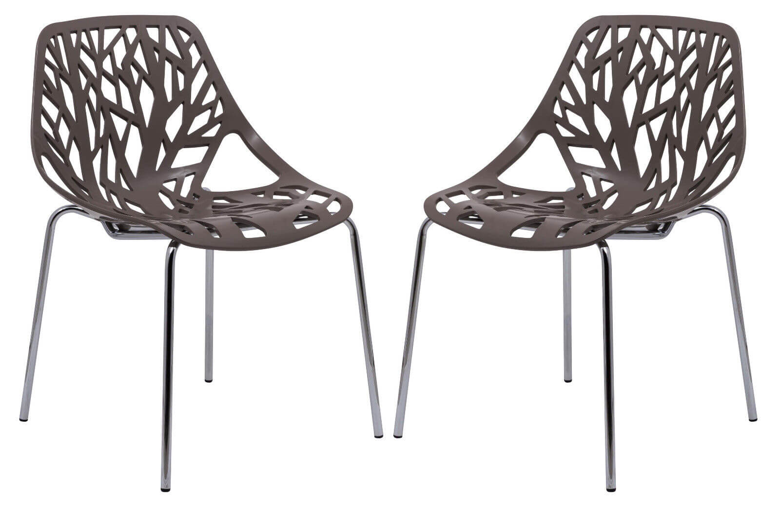taupe plastic life chair set