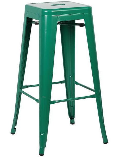 tonic barstool dark green 461x600