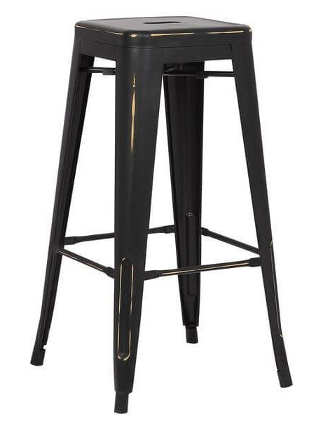 tonic barstool distressed black 461x600