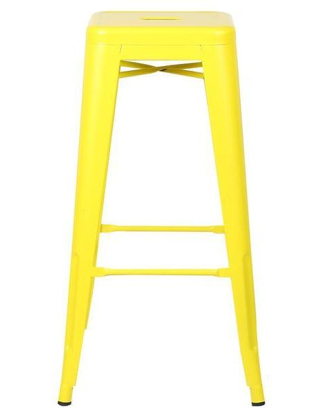 tonic barstool lemon yellow 2 461x600