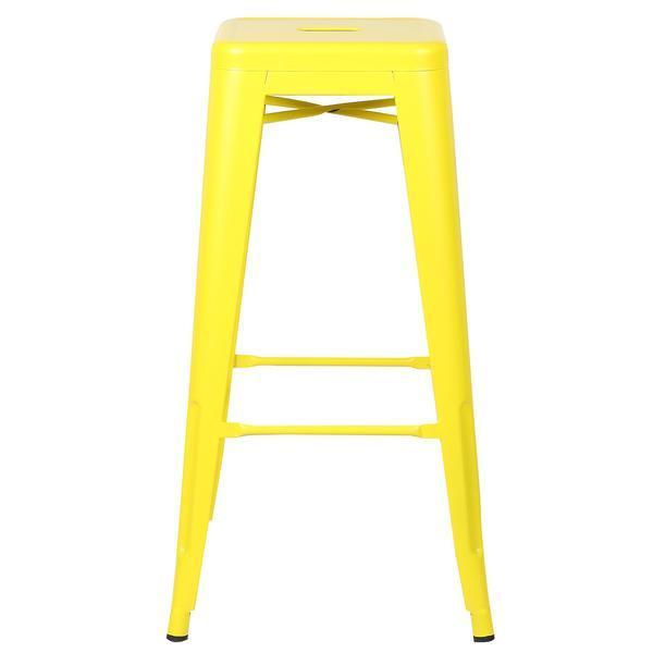 tonic barstool lemon yellow 2