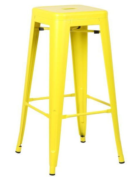 tonic barstool lemon yellow 461x600