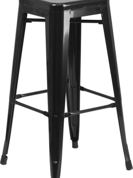 tonic metal barstool black 461x614