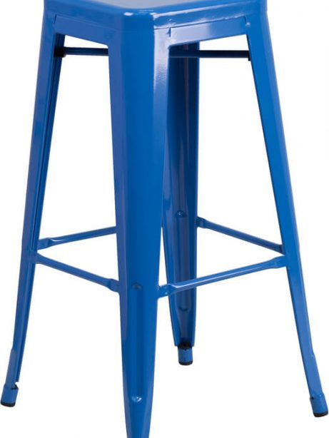 tonic metal barstool electric blue 461x614