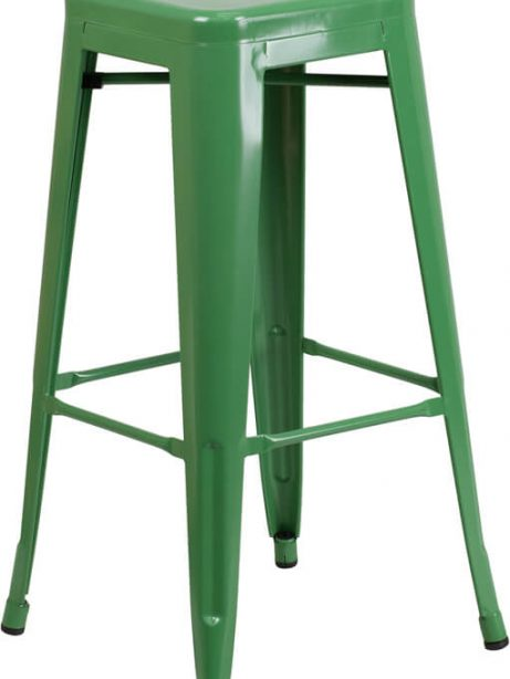 tonic metal barstool green 461x614