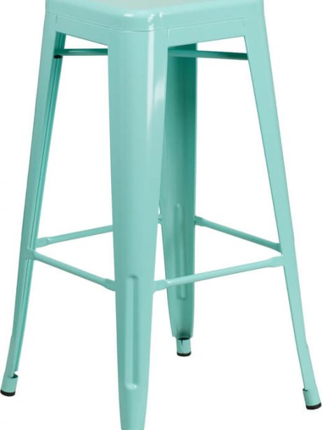tonic metal barstool mint green 461x614