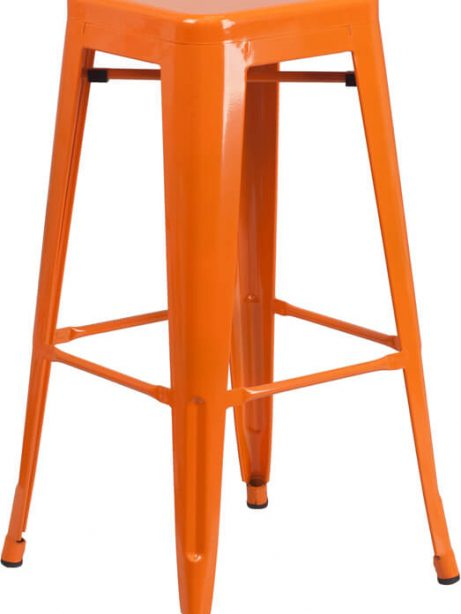 tonic metal barstool orange 461x614