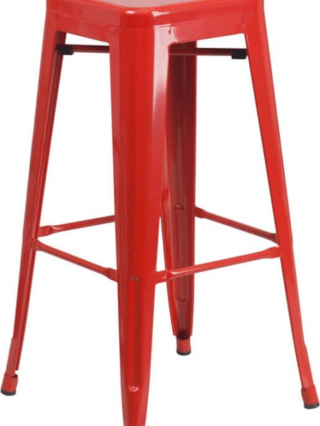 tonic metal barstool red 461x614