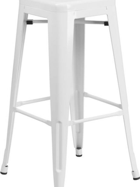 tonic metal barstool white 461x614