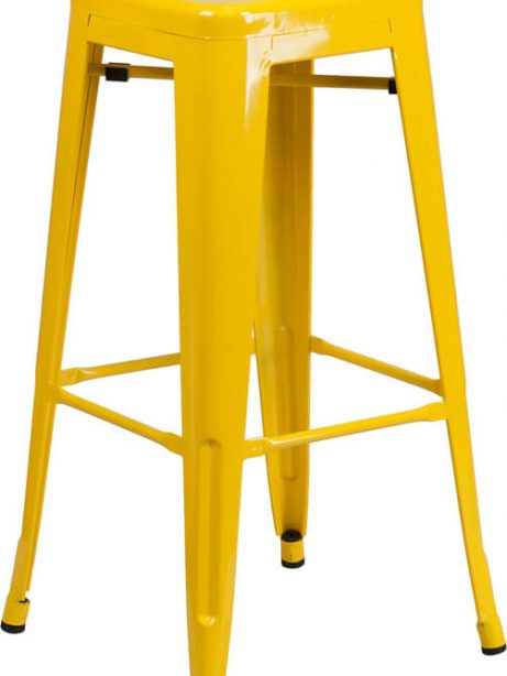 tonic metal barstool yellow 461x614