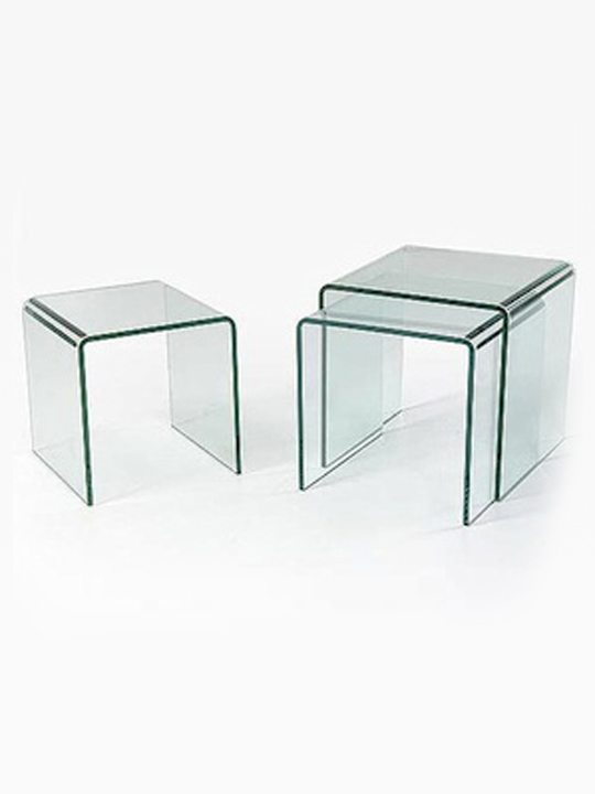 3 Glass Tables Icon