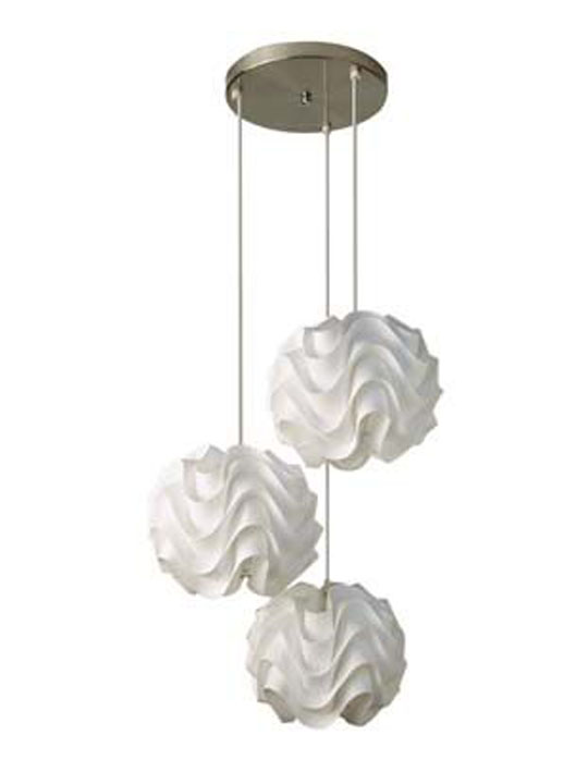 3 Waves Chandelier