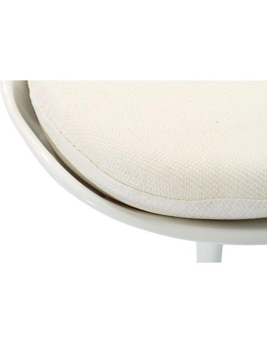 Astro Chair White Shell White Cushion 4