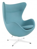 Baby Blue Magnum Leather Chair 156x207