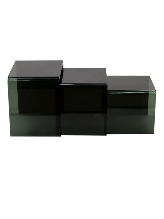 Black 3 Ice Accent Tables
