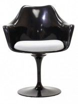 Black Astro Armchair White Cushion e1435091206807 156x207