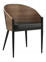 Black Base Stroke Chair 156x207