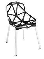 Black Grid Chair 156x207