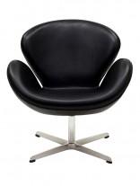 Black HUG Leather Chair1 156x207