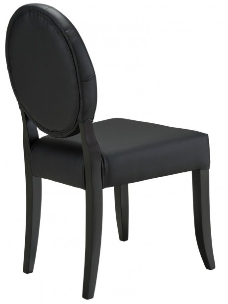 Black Heirloom Dining Chair 461x614