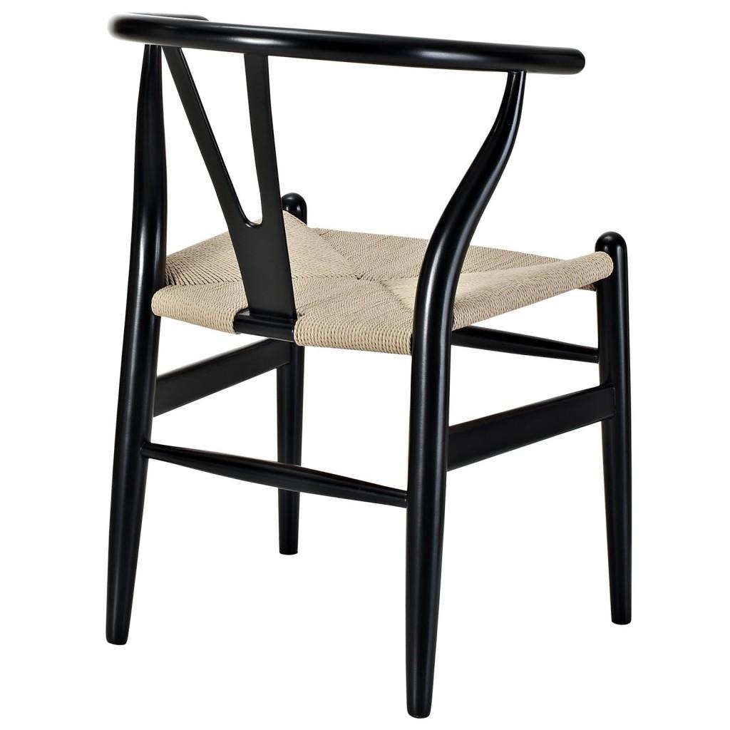 Black Hemp Chair 2