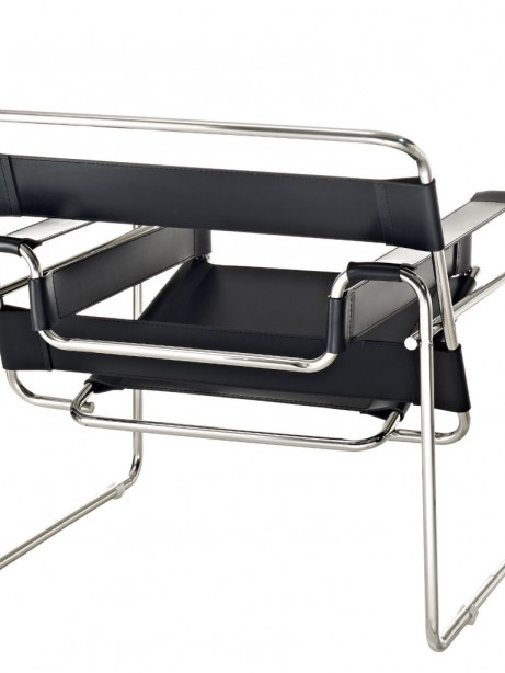 Black Leather Strap Chair 2 461x614