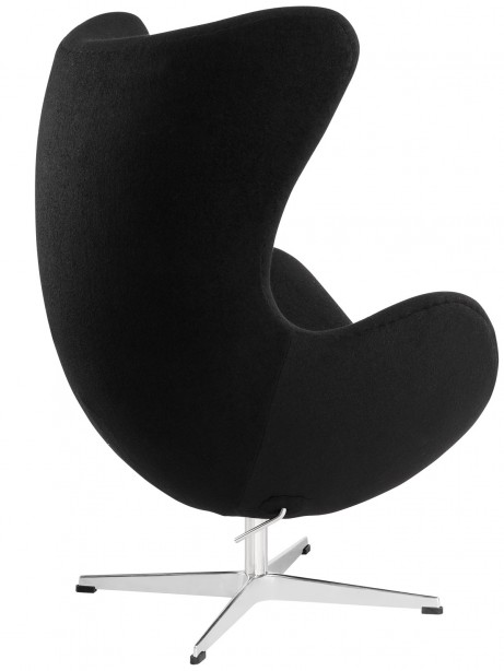 Black Magnum Wool Chair 2 461x614