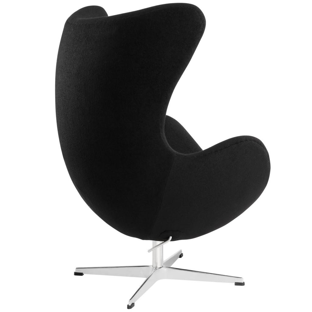 Black Magnum Wool Chair 2